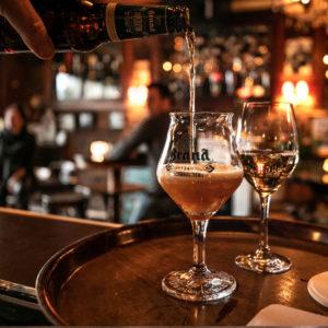 Heerlijk glas bier bij Cafe Keulen